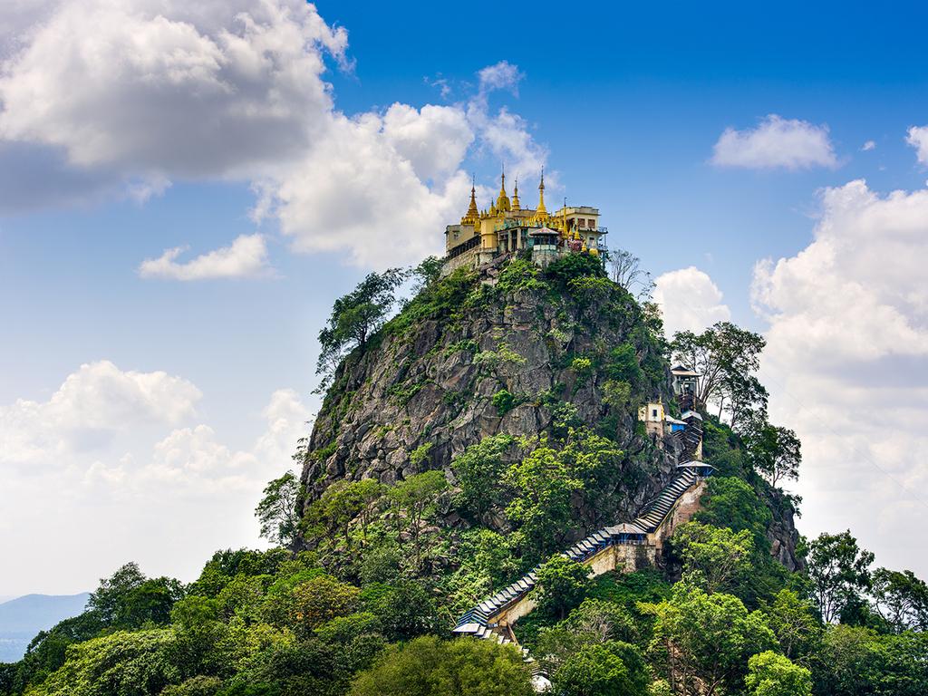 Bagan – Mount Popa – Kalaw: Geisterberg, Töpferdorf