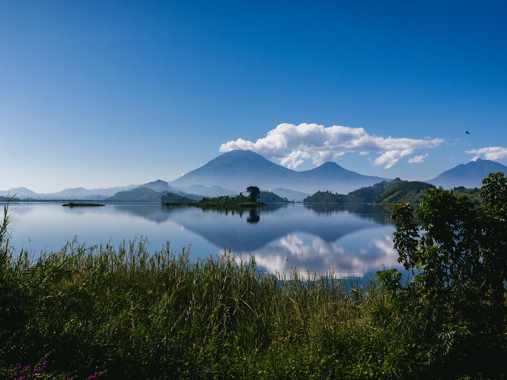 Bunyonyi-See – Lake Mutanda : Zeit zur freien Verfügung, Bootsfahrt am Abend