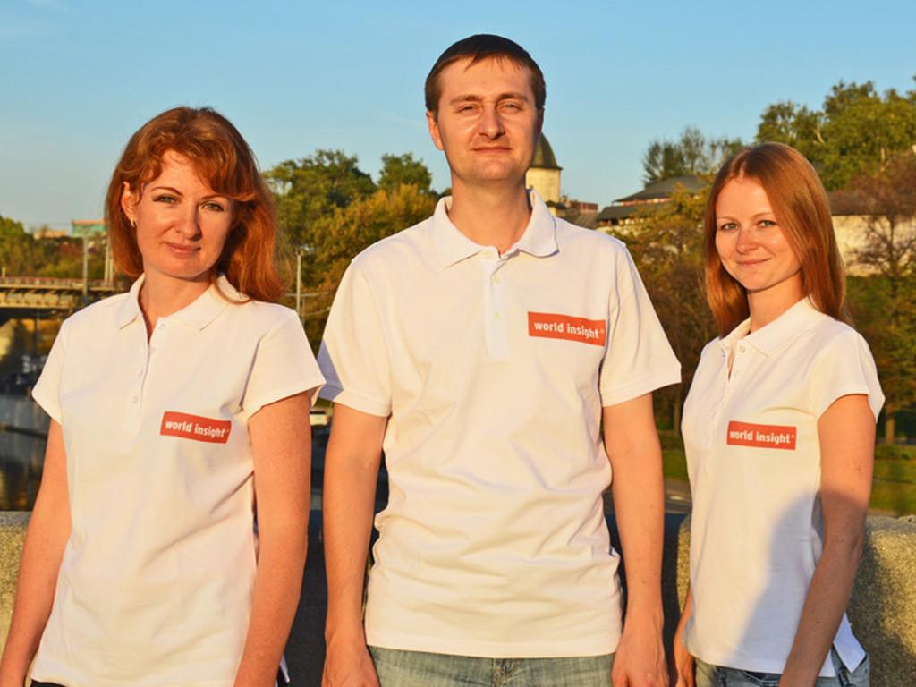 Unser Team in Russland