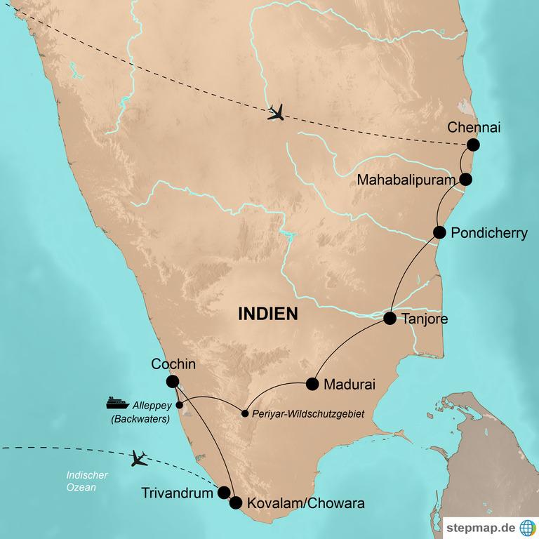 Indien: der Süden – Zauberhafte Tage im exotischen Süden