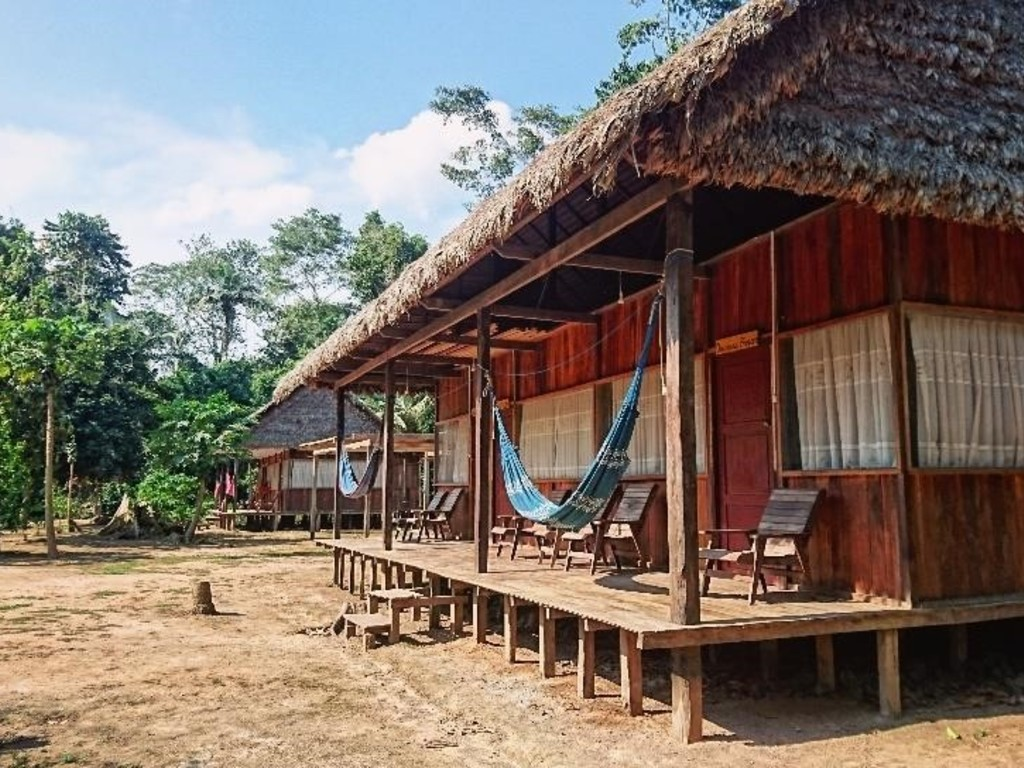 Eco-Lodge Tacuaral  in Nationalpark Madidi