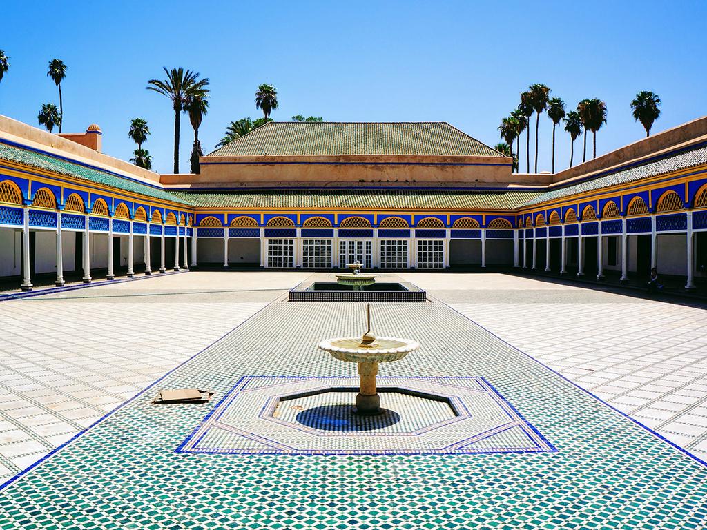 Marrakesch: Stadtbesichtigung am Vormittag, Freizeit, Teezeremonie bei einer marokkanischen Familie