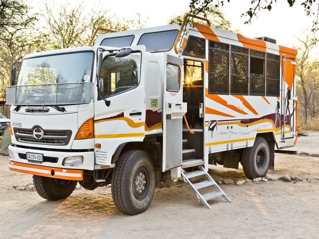 Einer unserer Overland Trucks im südlichen Afrika
