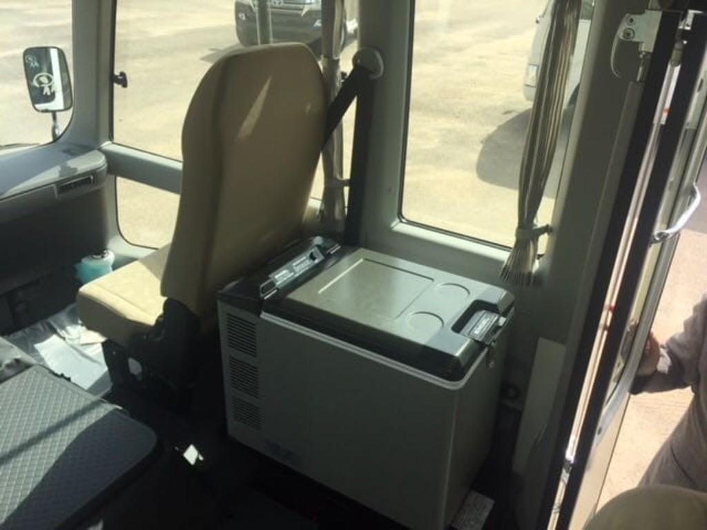 Einer unserer Busse in Ägypten Innenansicht