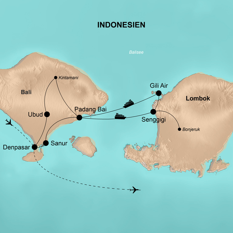 Indonesien: Flores, Komodo, Bali und Lombok – Insel-Hopping mit Komodo-Nationalpark