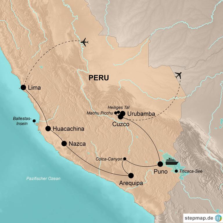 Peru  – Die Schätze des Andenparadieses