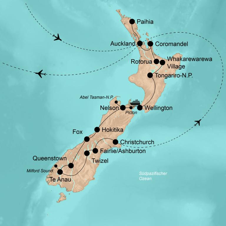 """Neuseeland – Im """"Land der langen weißen Wolke"""""""