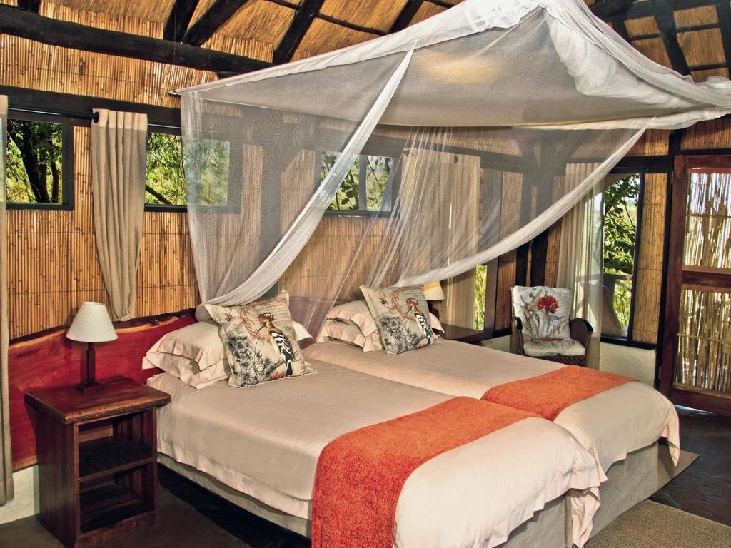Lianshulu Bush Lodge *** in einer privaten Konzession im Mudumu-Nationalpark