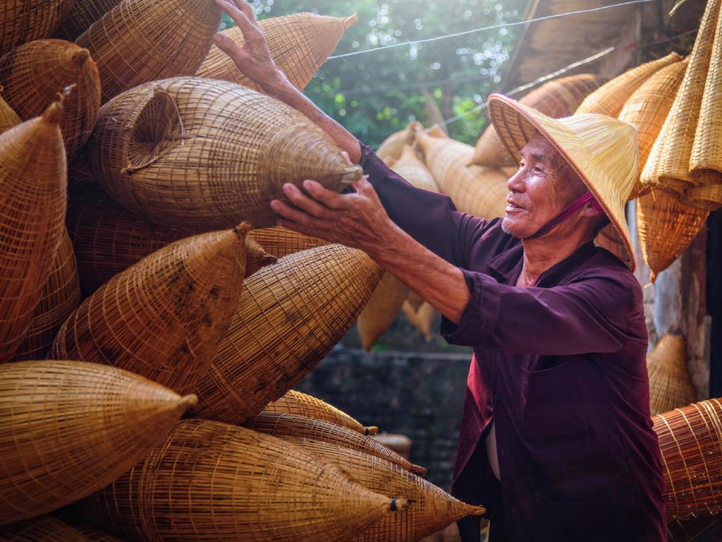 Ho-Chi-Minh-Stadt – Vinh Long: Mekong-Delta per Boot und Fahrrad, Mittagessen bei einer Familie, Übernachtung im einfachen Gästehaus