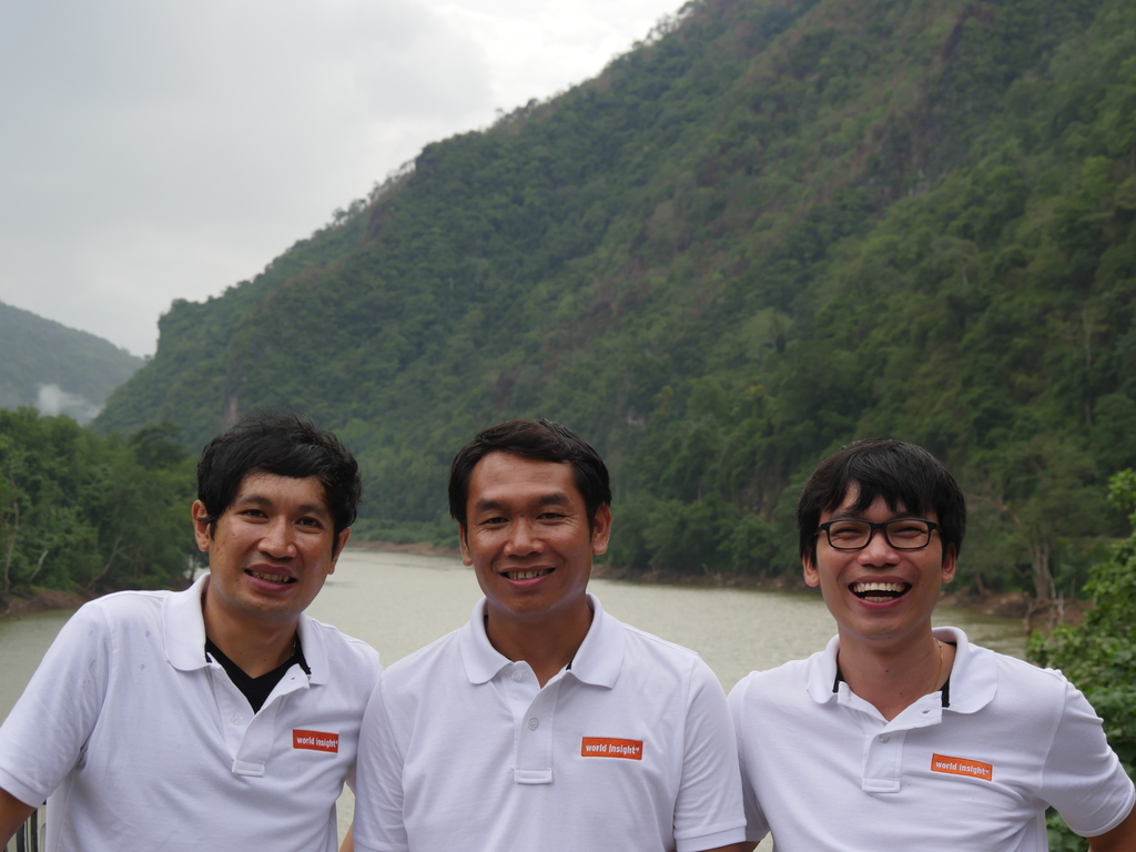 Unser Team in Laos