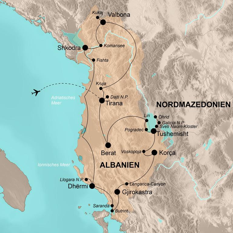 Albanien – Balkan für Genießer