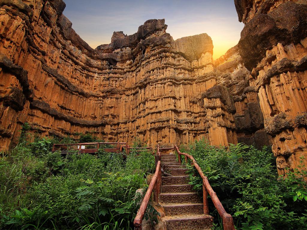 Ausflug in den Mae Wang- und Khan-Nationalpark: Pha Chor Canyon, Wanderung im Khan-Nationalpark