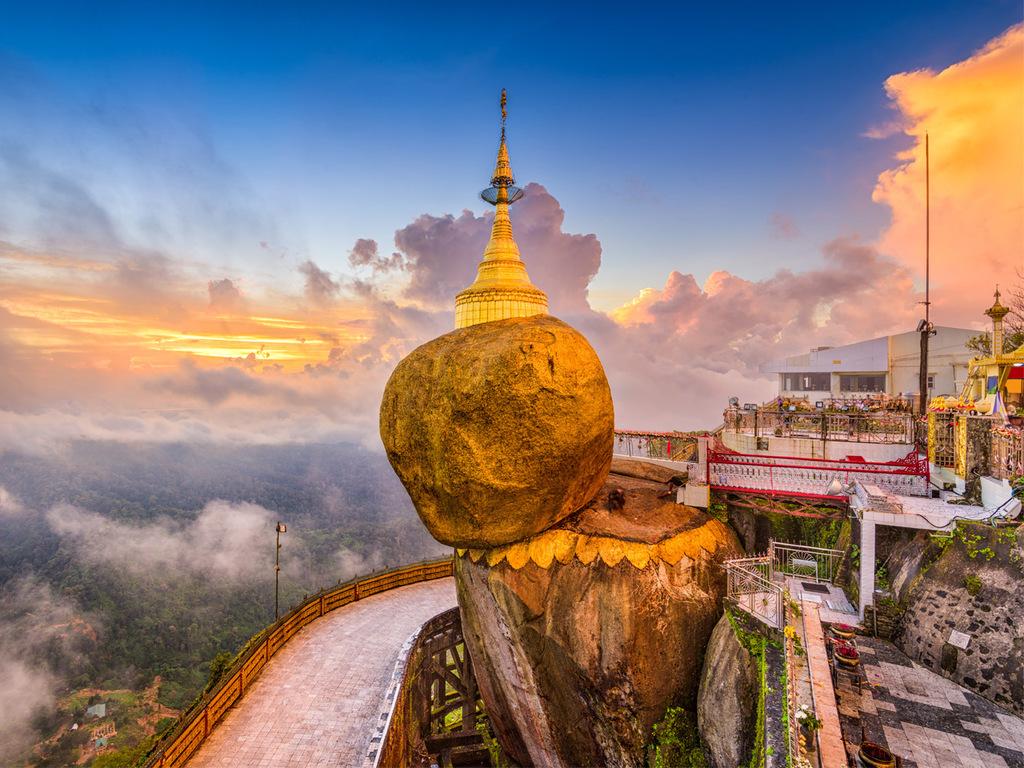 Naypyidaw – Kin Pun – Kyaiktiyo: Pilgertraum Goldener Felsen