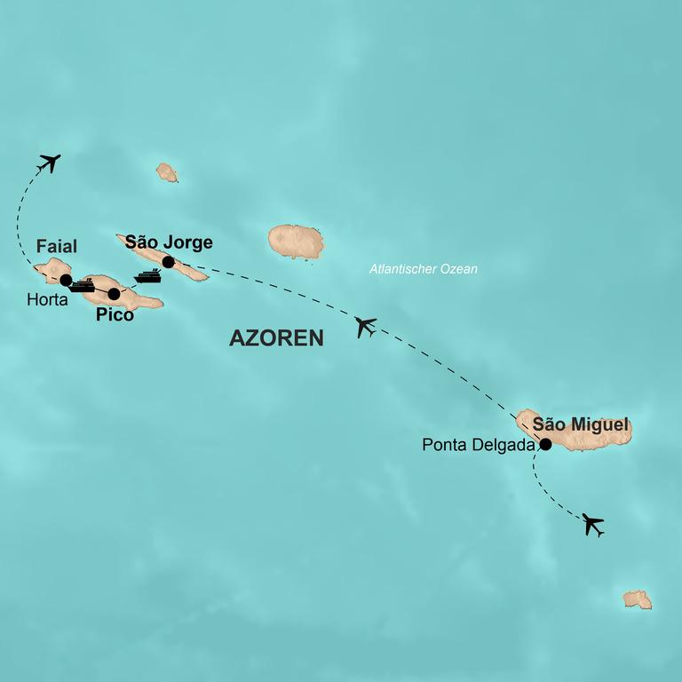 Portugal: Azoren – Im Garten Eden