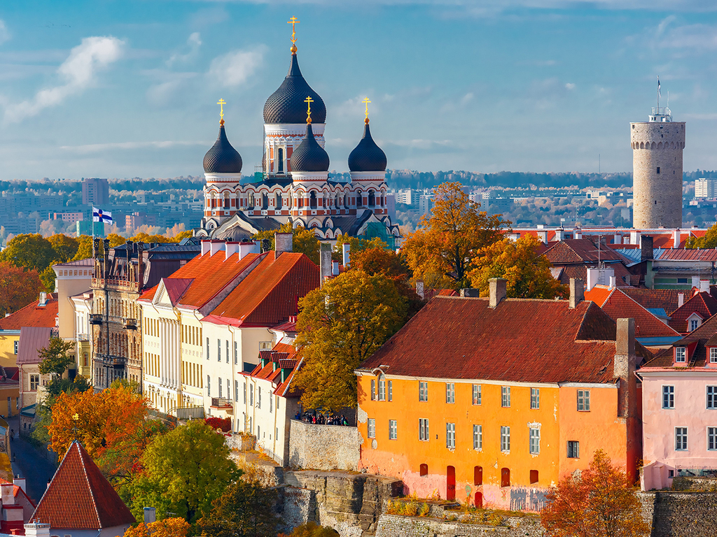 Tallinn: Stadtbesichtigung, freier Nachmittag