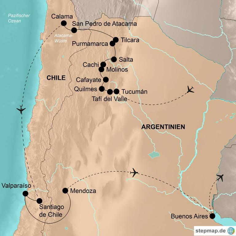 Argentinien und Chile – Der unbekannte Norden
