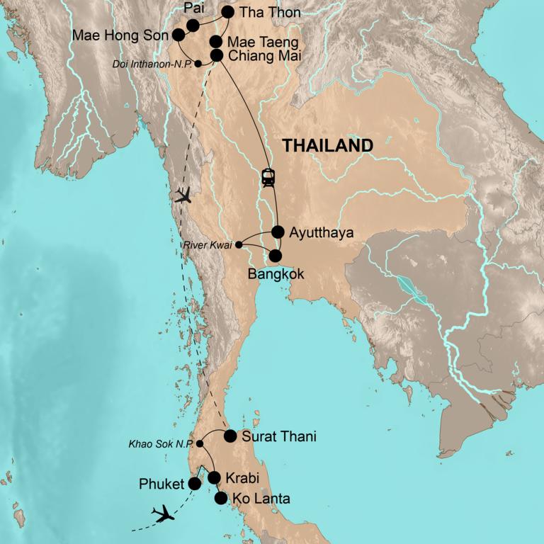 Thailand: der Norden und Süden – Nature Lover Tour