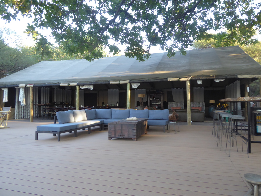 Kigelia Adventure Tented Lodge *** am Okavango-Fluss/West-Delta