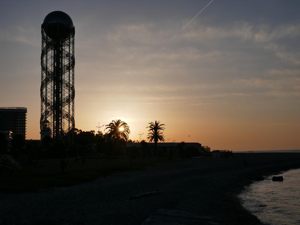 Batumi bei Sonnenuntergang