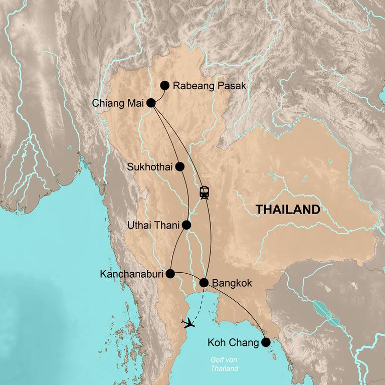 Thailand – Im Land des Lächelns