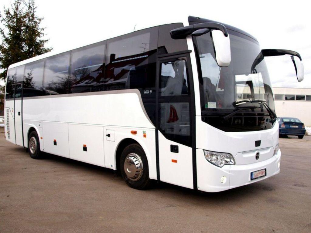 Einer unserer Reisebusse in Portugal