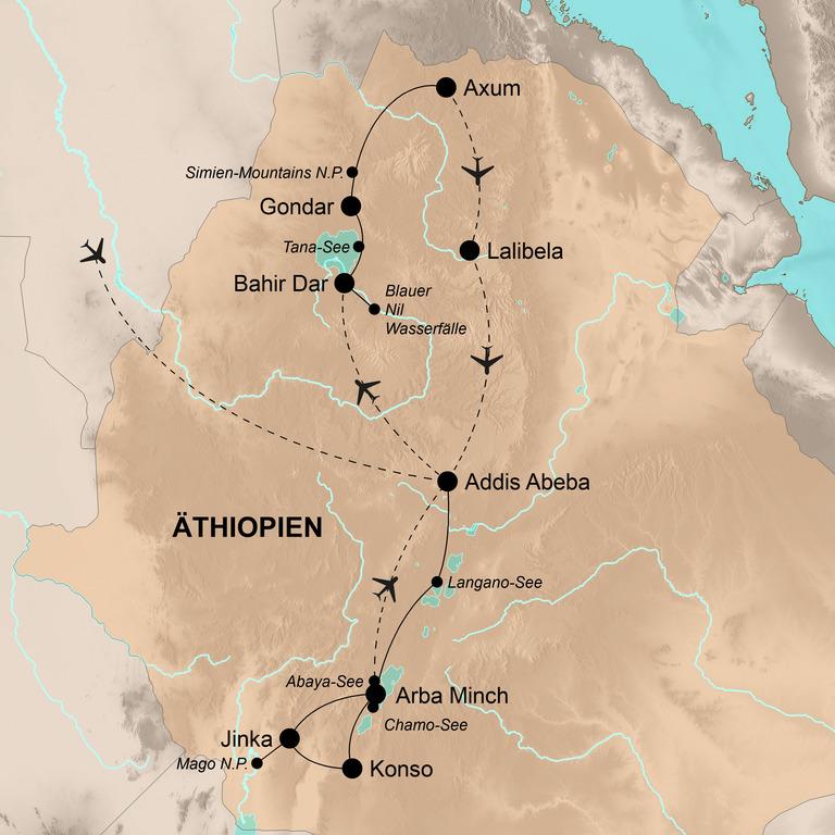 Äthiopien – Die Wiege der Menschheit