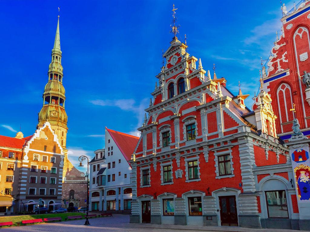 Riga: Stadtbesichtigung mit Besuch des Zentralmarktes, Freizeit am Nachmittag