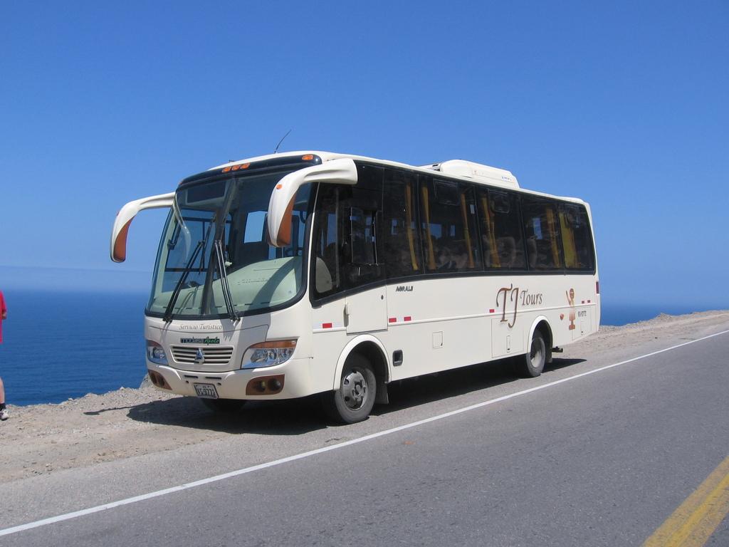 Einer unserer Busse in Peru