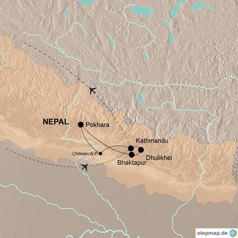 Nepal – Buntes Nepal