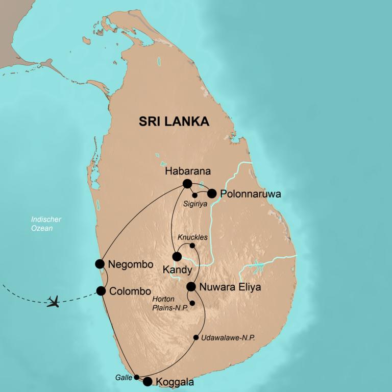 Sri Lanka – Tropenparadies der Farben und Düfte