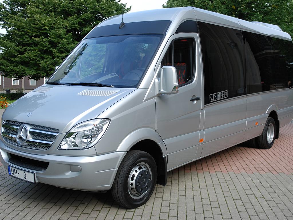 Unser Transport im Baltikum