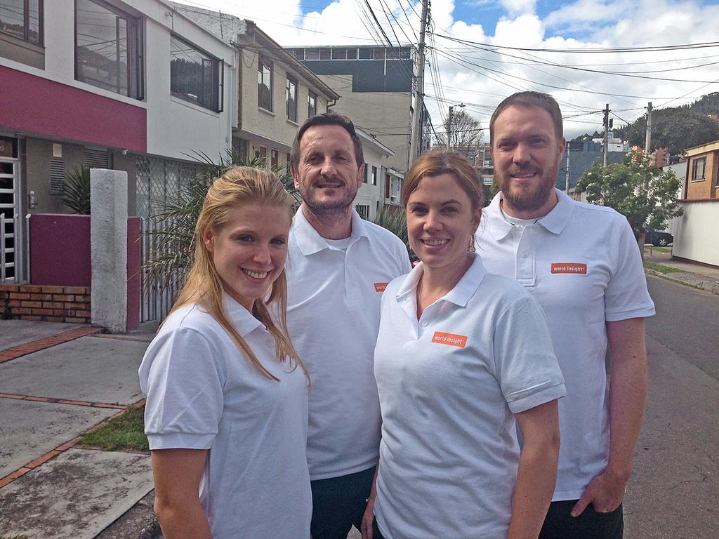 Unser Team in Kolumbien