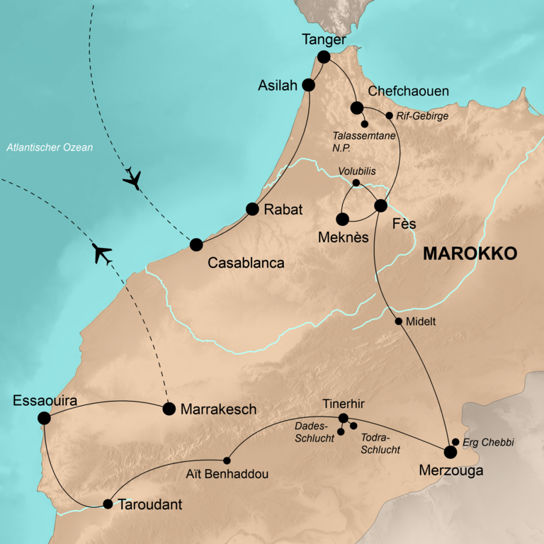 Marokko – Die umfassende Reise