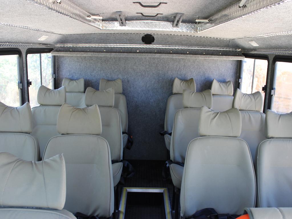 Einer der Fahrzeuginnenräume