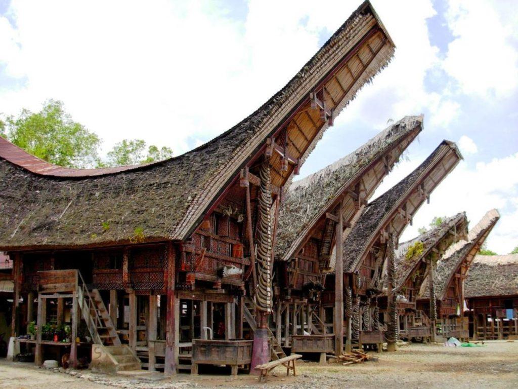 Toraja-Wohnhaus   in Limbong