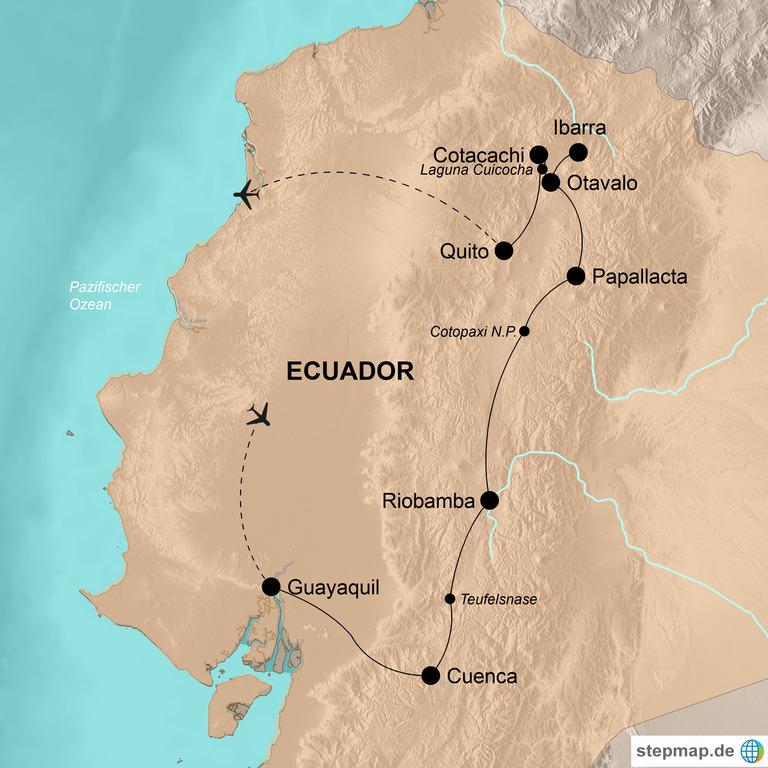 Ecuador mit Galápagos Inseln – Tierwelt - Indígenas - Koloniale Pracht