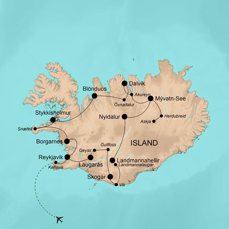 Island – Die umfassende Reise