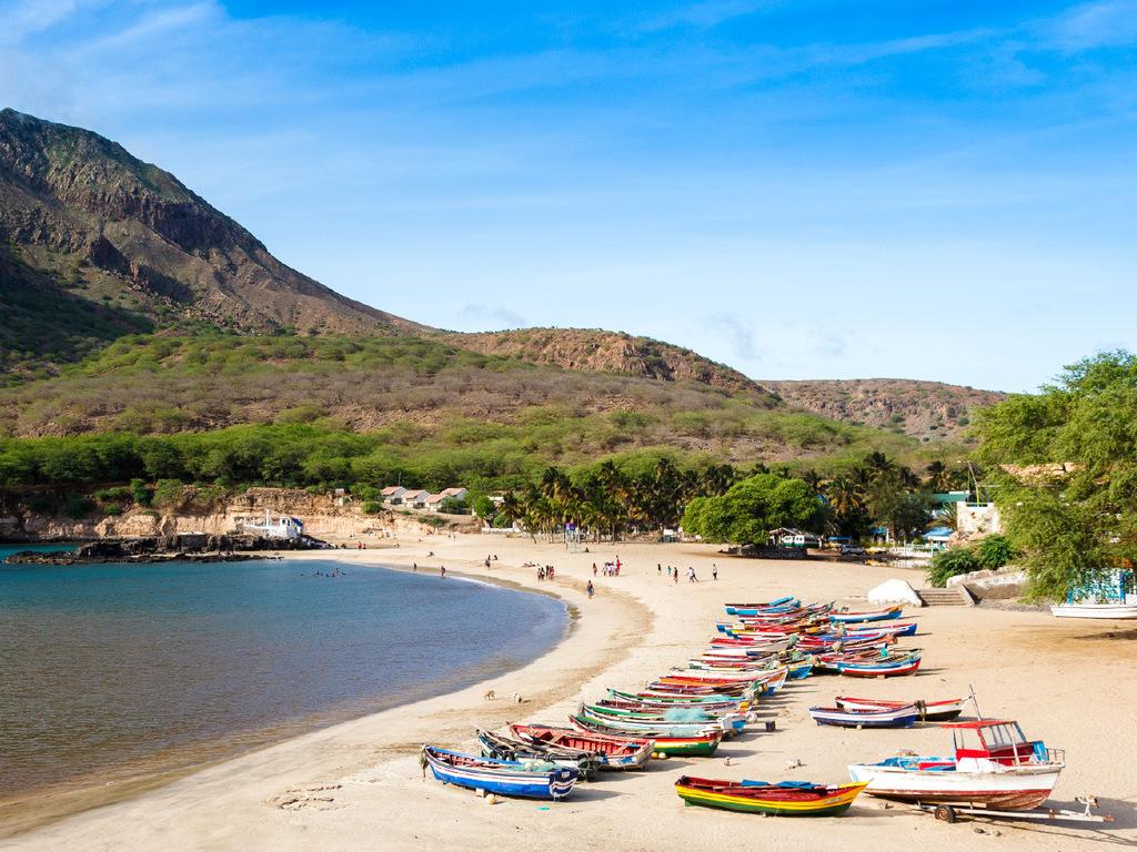 Cidade Velha – Tarrafal – Praia: Fahrt durch die Bergwelt mit Marktbesuch in Assomada und Zeit in Tarrafal zum Baden