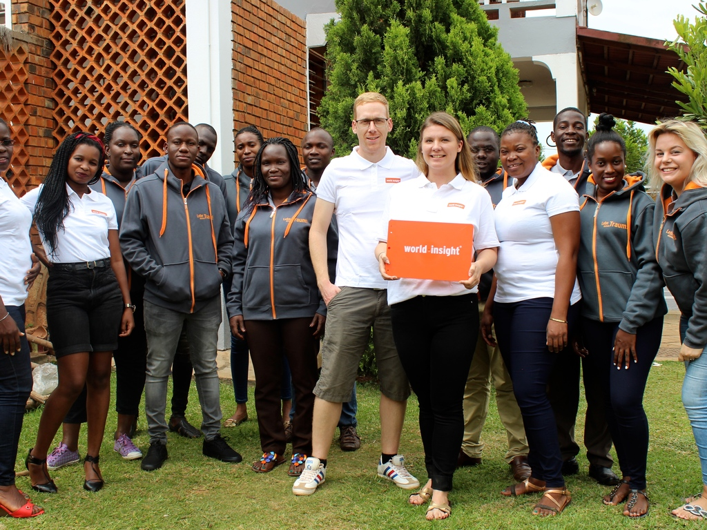 Unser Team in Uganda und Ruanda