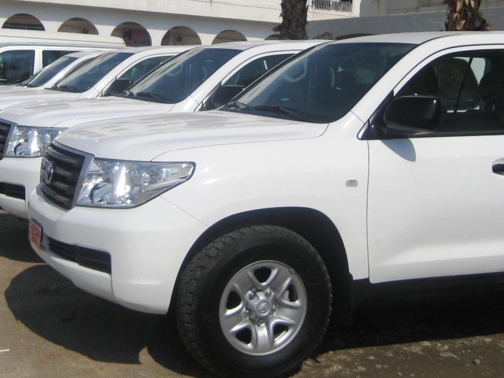Allradfahrzeuge in Oman