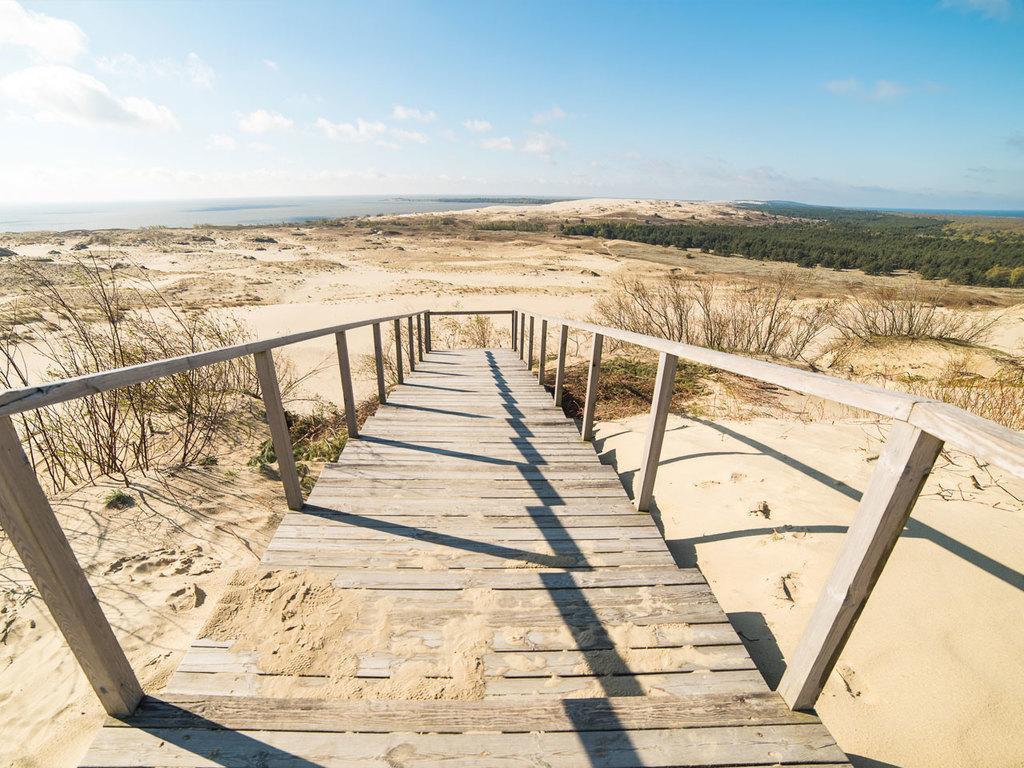 Nida: Wanderung um Nida, nachmittags Freizeit