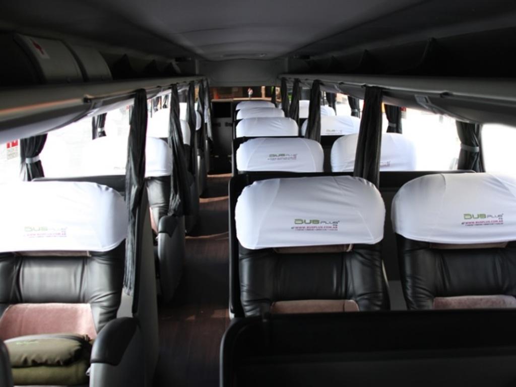 Nachtbus (Fahrt von Puerto Deseado nach Rio Gallegos)