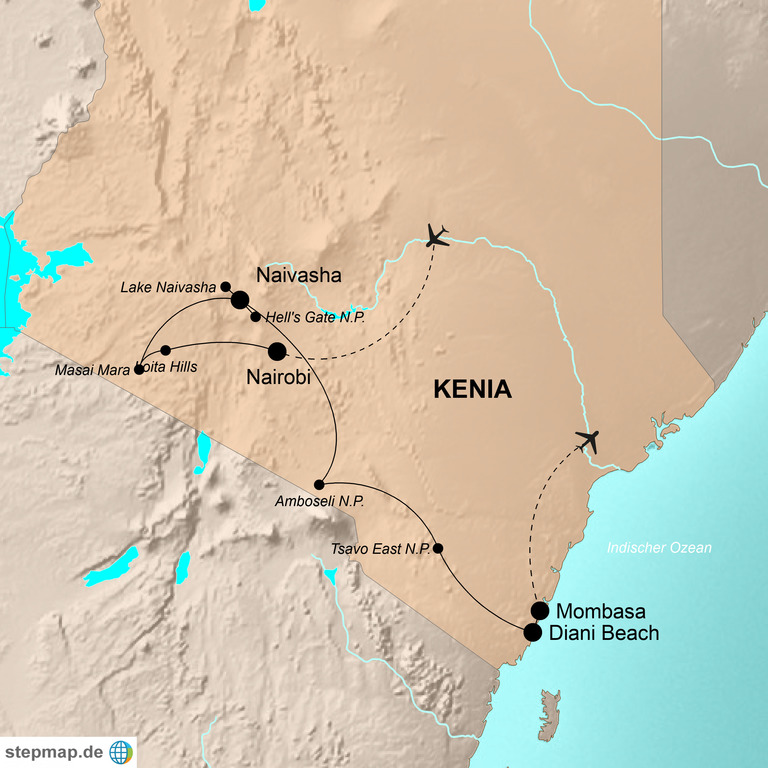 Kenia – Best of Kenya