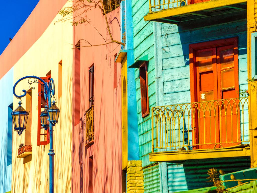 Buenos Aires : Ankunft, Citytour zu Fuß und mit öffentlichen Verkehrsmitteln