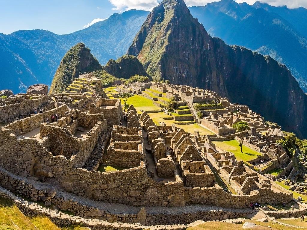 Aguas Calientes – Machu Picchu – Cuzco: Besuch von Machu Picchu, Rückfahrt nach Cuzco mit Bus und Zug