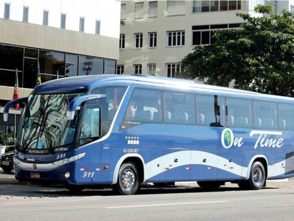 Einer unserer Busse in Brasilien