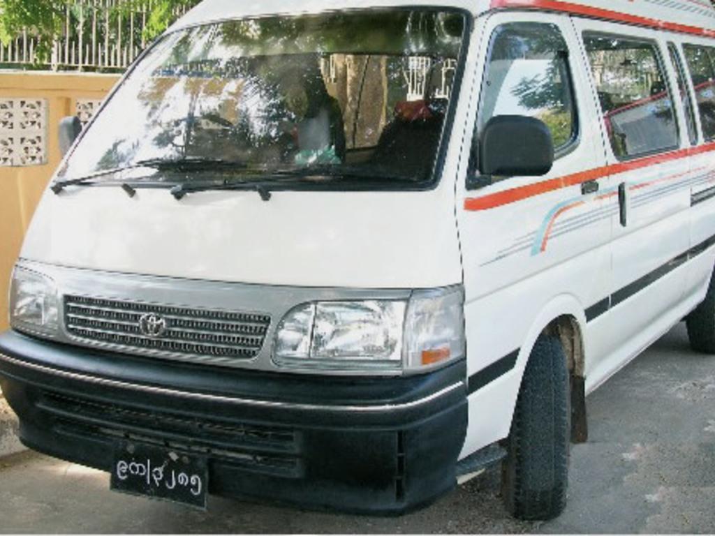 Reisebus Myanmar