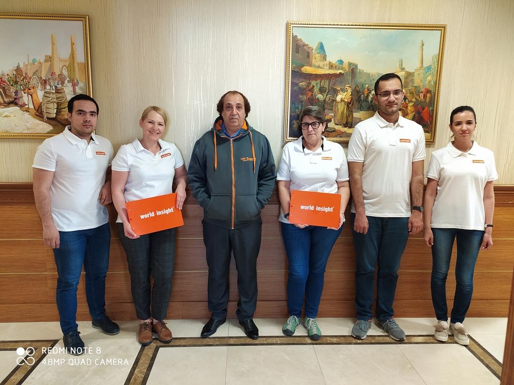Unser Team in Turkmenistan