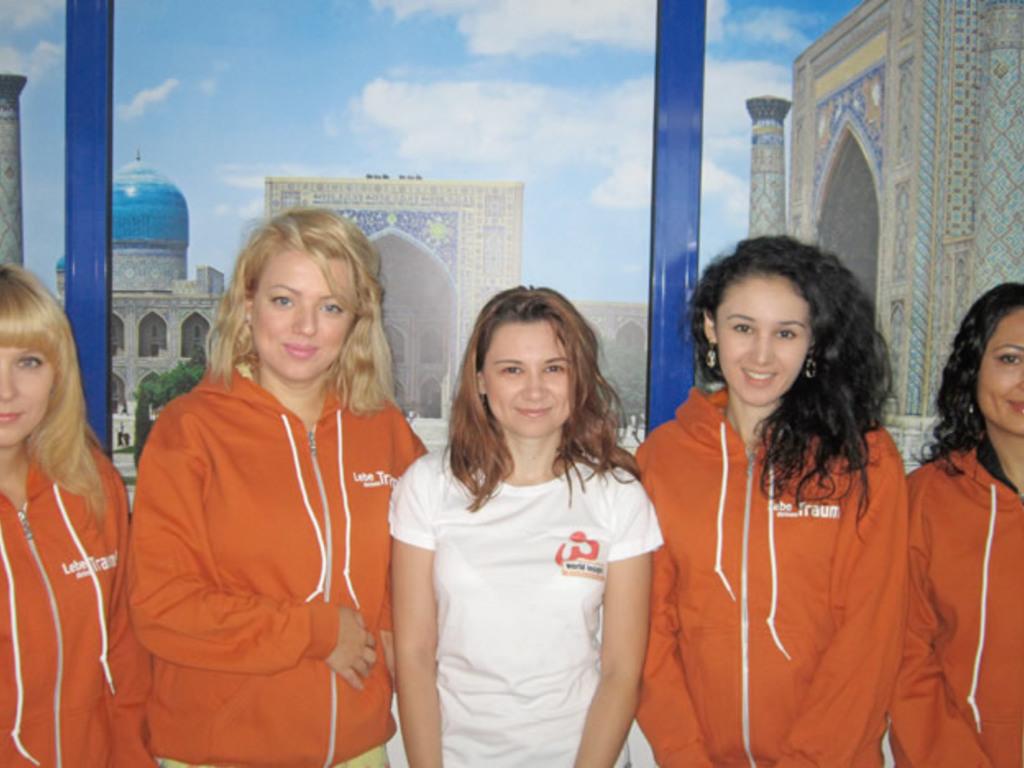 Unser Team in Usbekistan