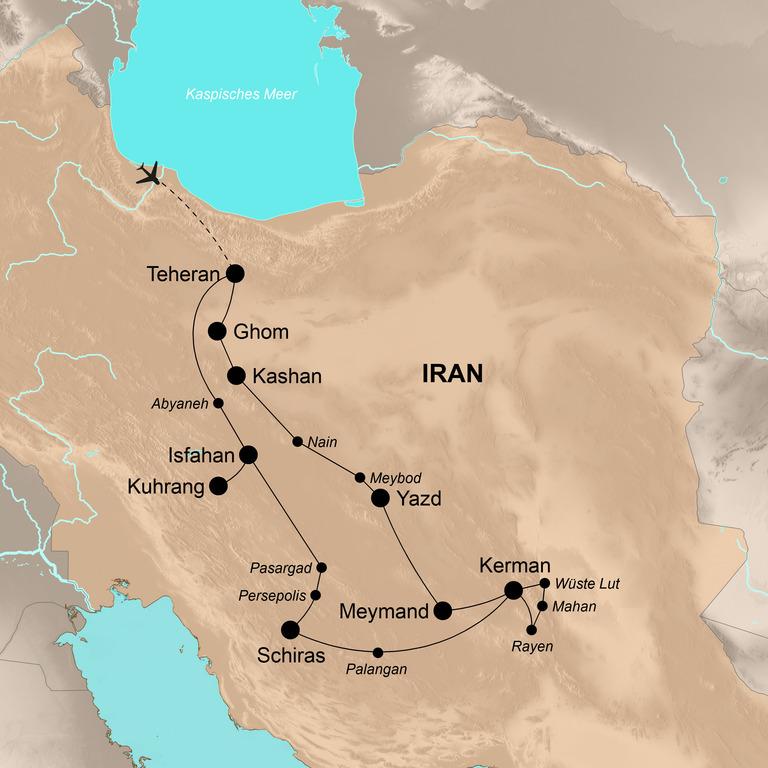 Iran – Persiens Schätze